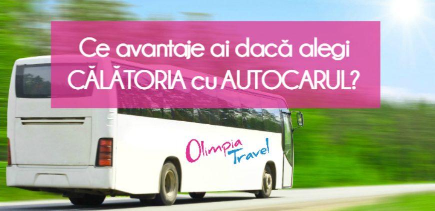 Ce avantaje ai daca alegi calatoria cu autocarul?