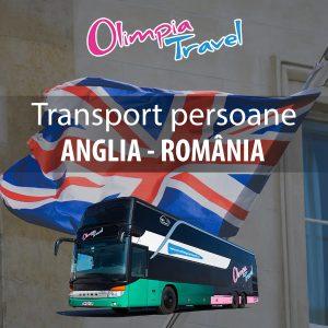 transport persoane Anglia Romania