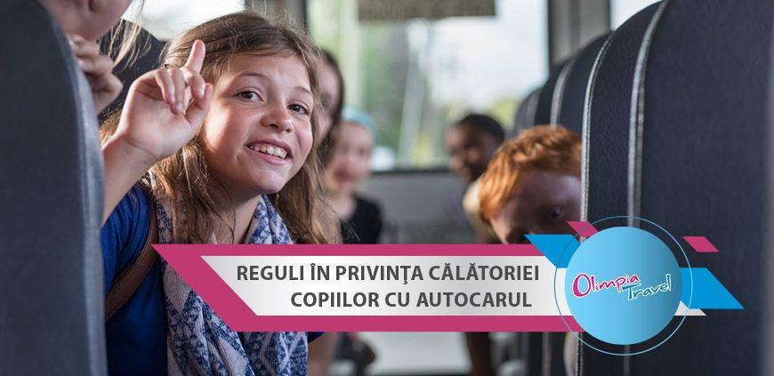 Reguli in privinta calatoriei copiilor cu autocarul