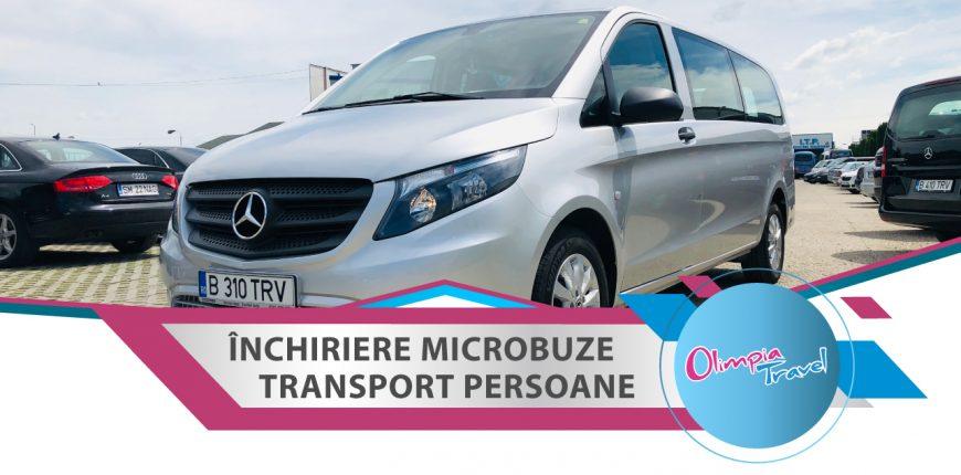 Inchiriere microbuze transport persoane