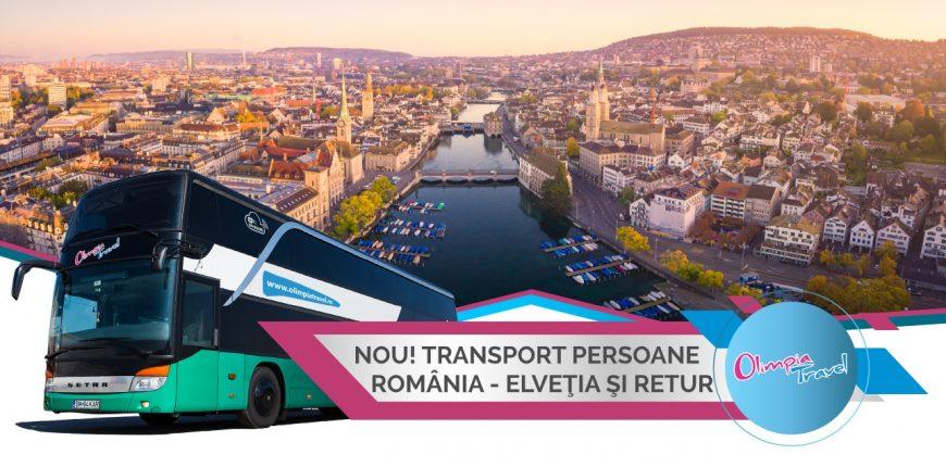 Transport persoane Romania Elvetia